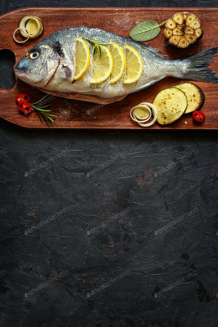 Lecker gesunder Fisch.