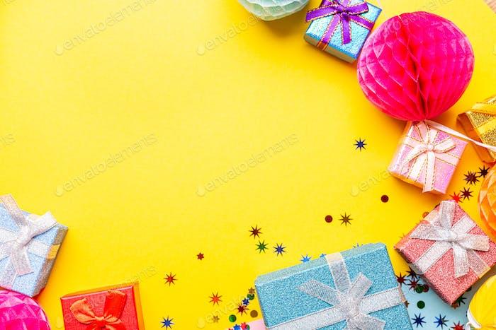 Feiertagsrahmenzusammensetzung