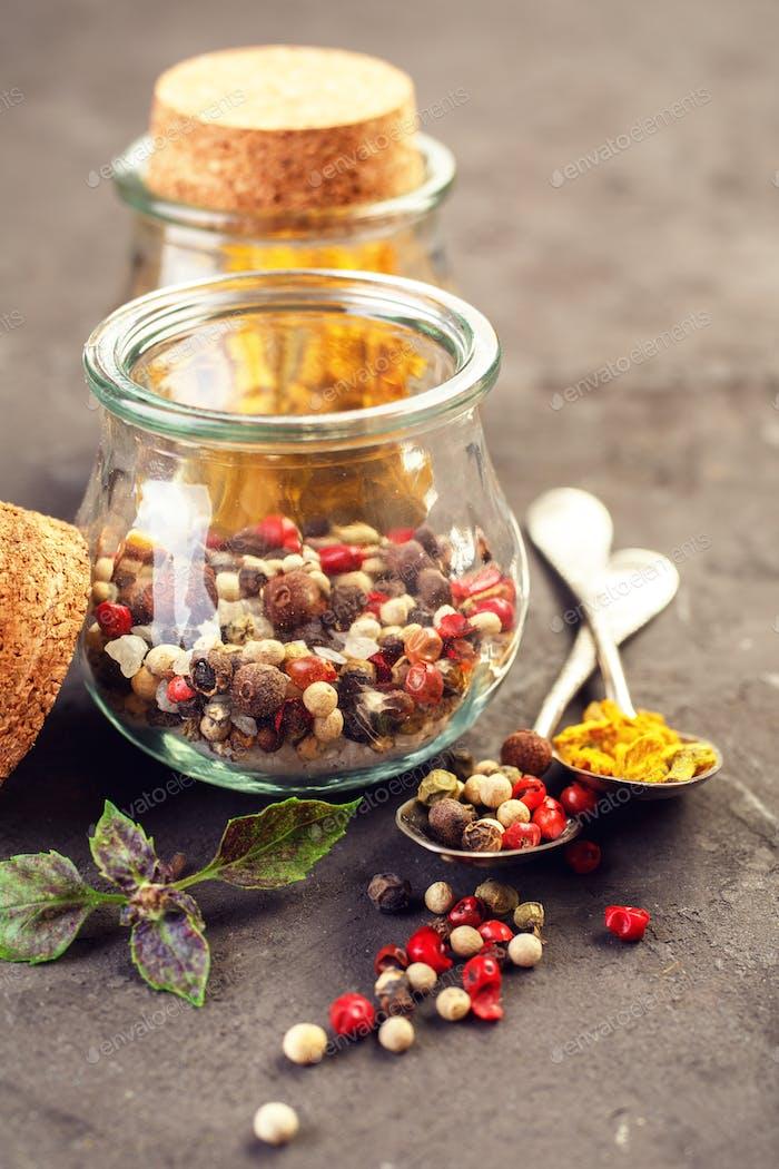 Pepper spice mix