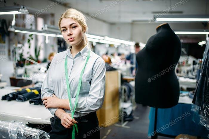 Thumbnail for Seamstress create threads on overlock machine