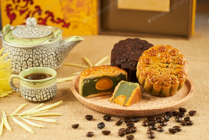 Mid autumn festival celebration