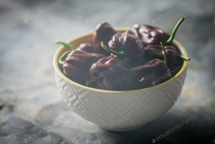 Habanero chocolate chili