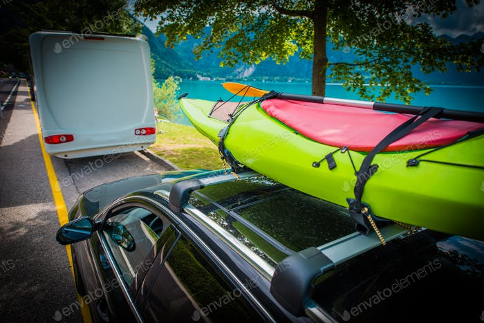 Summer Time Kayak Transport
