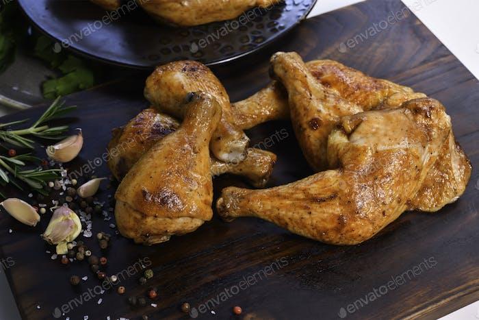 Patas de pollo a la parrilla