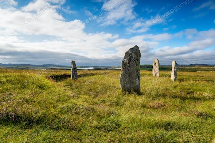 The Ceann Hulavig stone circle