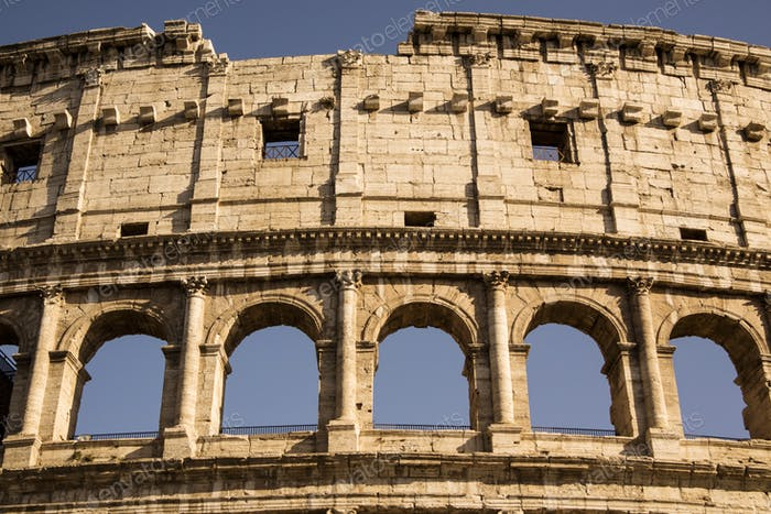 Constructive details of the Colosseum