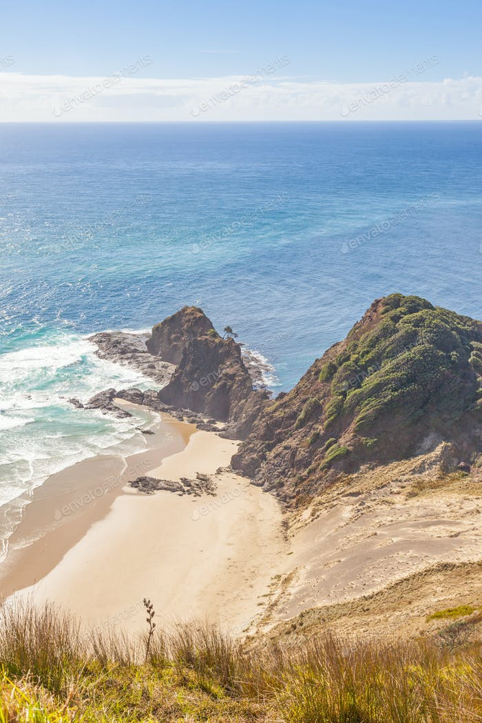 Te Reinga in New Zealand