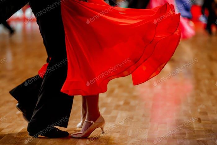Sportpaar Tänzer