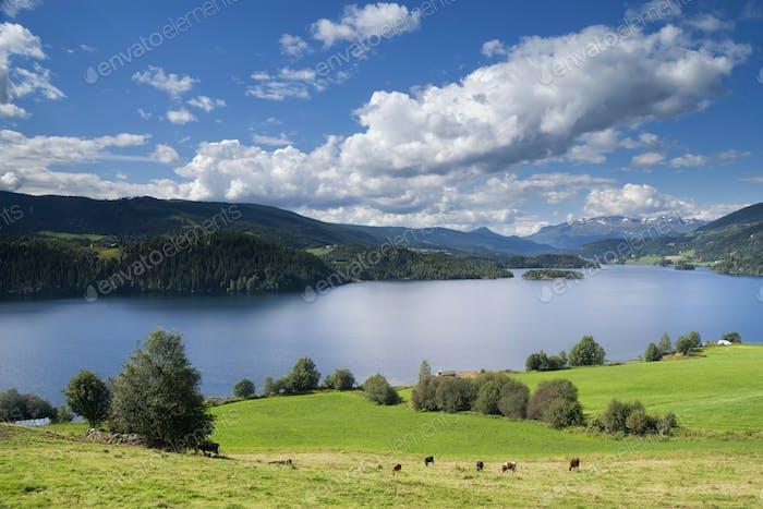 View over the Slidrefjorden
