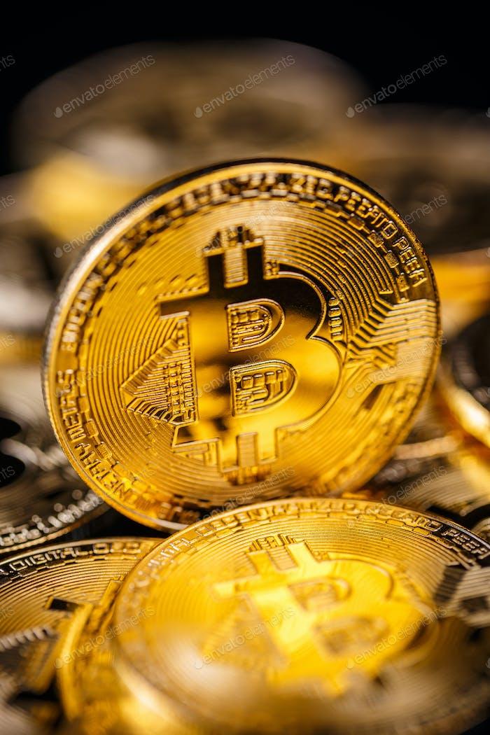 Virtuelles Kryptowährungskonzept