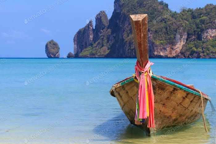Holidays paradise beach