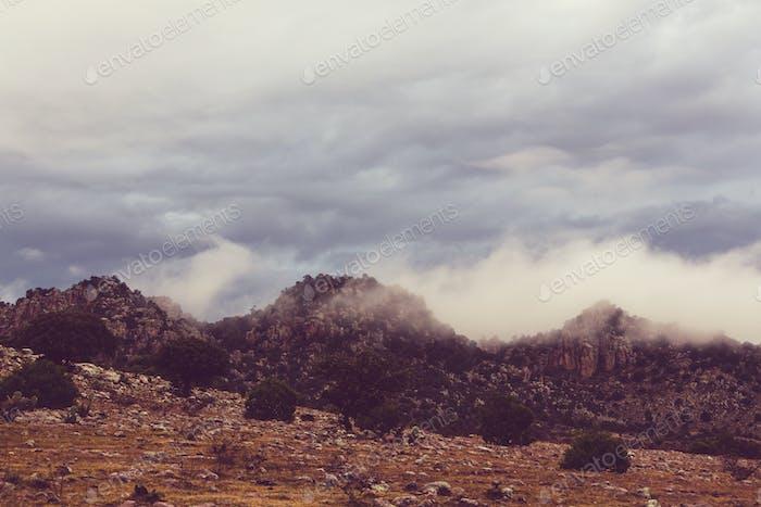 Montañas en México