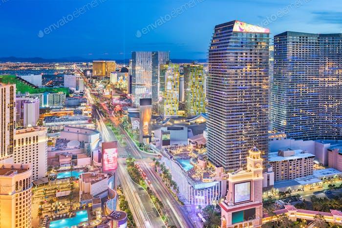 Las Vegas, Nevada, USA cityscape