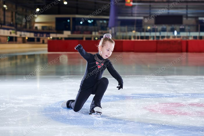 Figure Skating Little Girl