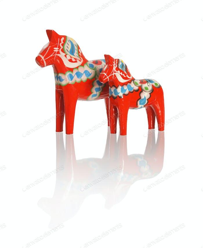 Dalecarlian horses