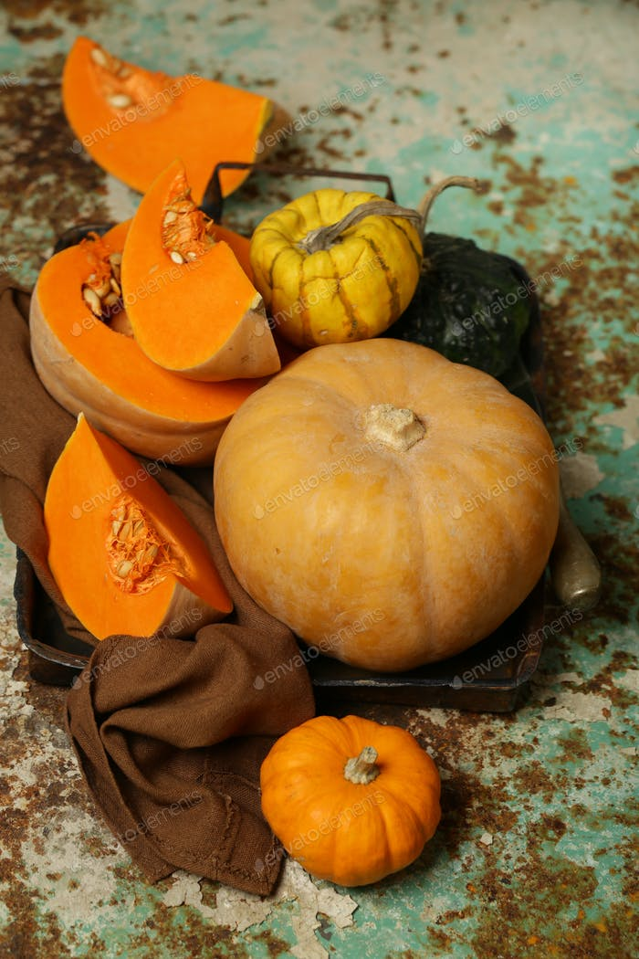 Natural Organic Pumpkins