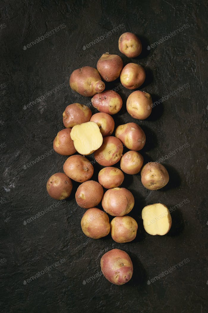 Raw potatoes miss blush