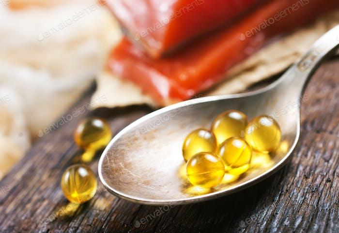 fish and capsules