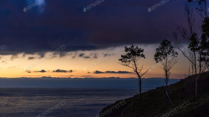 Cantabrian Sea at Twilight, Spain