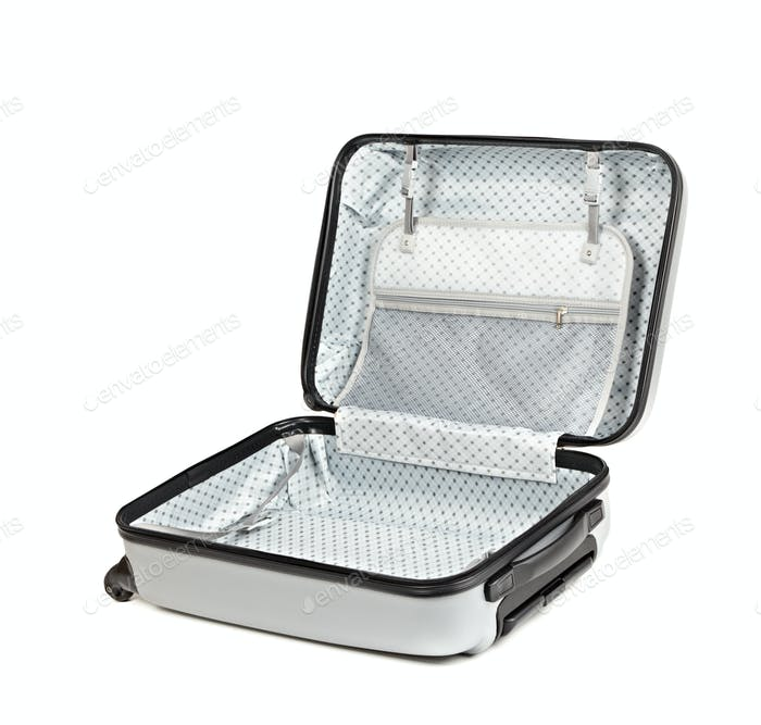 Opened suitcase
