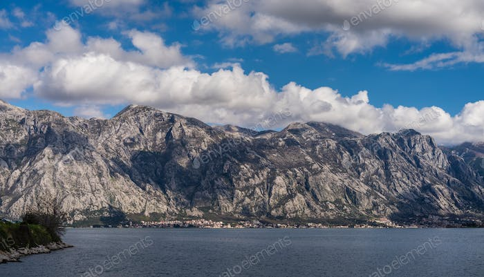 Bay of Kotor landscape