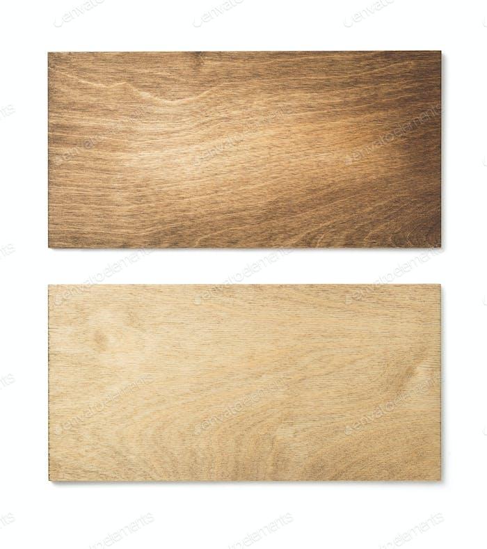 Holzoberfläche Textur auf weißem Hintergrund