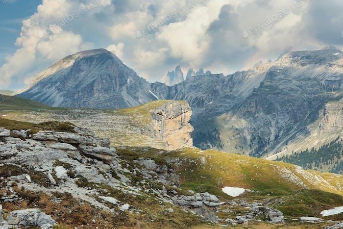Naturpark Puez-Geisler in den Dolomiten, Italien