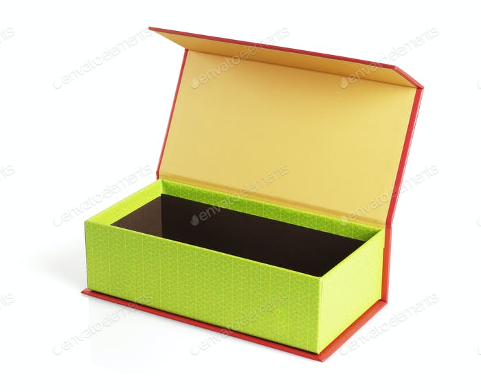 Open Festive Gift Box