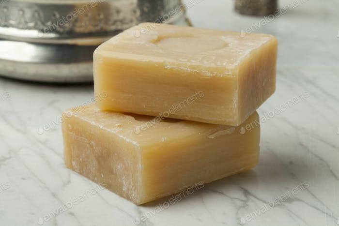 Moroccan soap for hamam