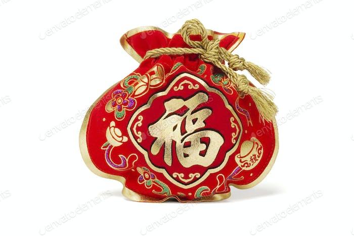 Chinesische Neujahrsgeschenktasche