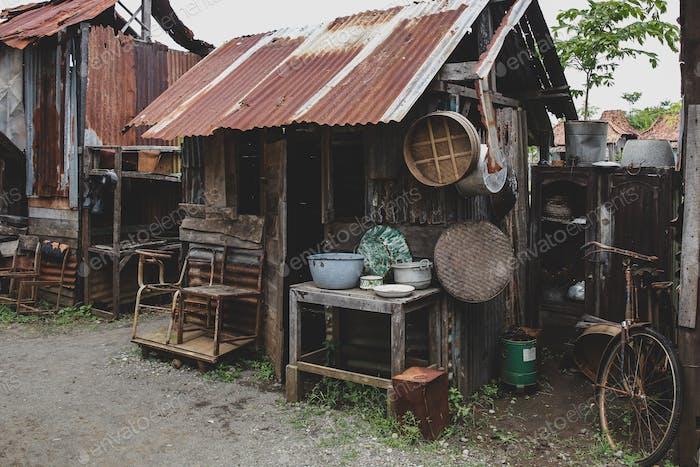 poor people's house