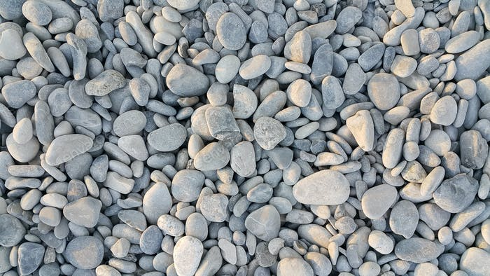 Sea pebbles background