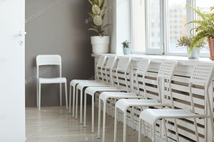 Empty seats at hospital