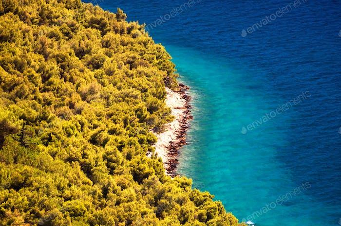 Kornati islands of Croatia. Northern part of Dalmatia.