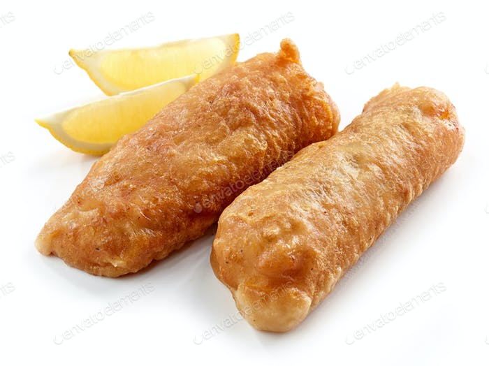 fried cod fillets
