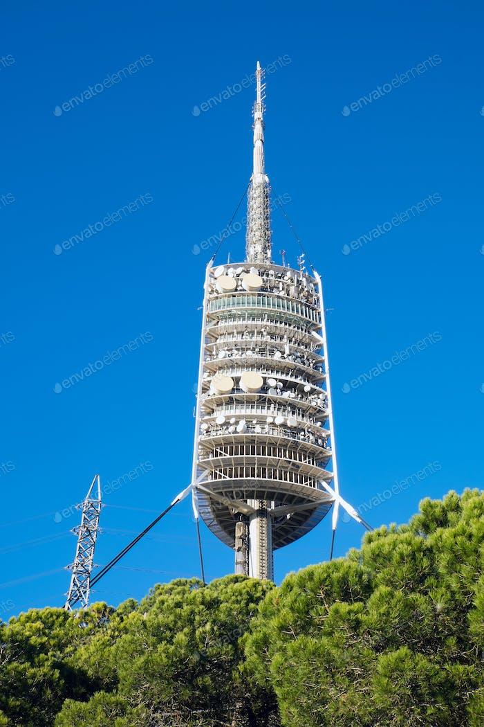 Torre de Collserola in Barcelona