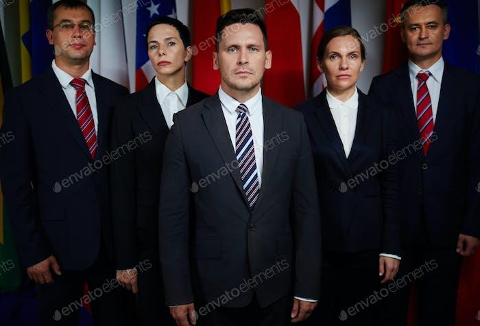 Confident delegates