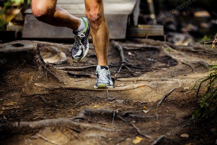 Legs Male Marathon Runner
