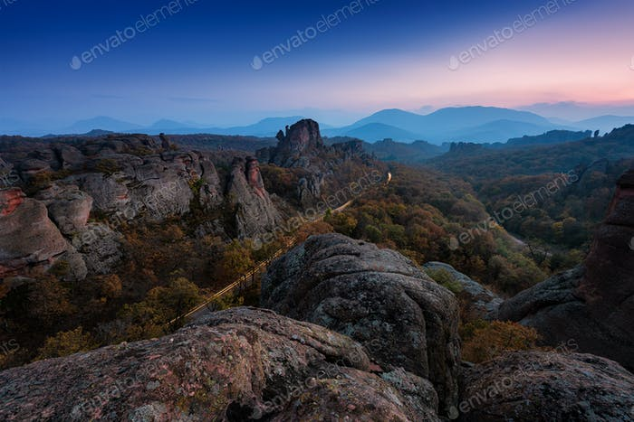 Belogradchik rocks in Bulgaria