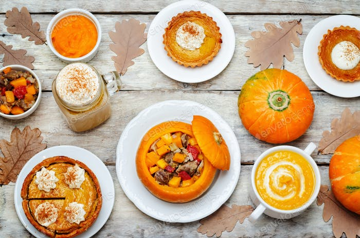 List of pumpkin dishes. Pumpkin Latte; Pumpkin stuffed with meat