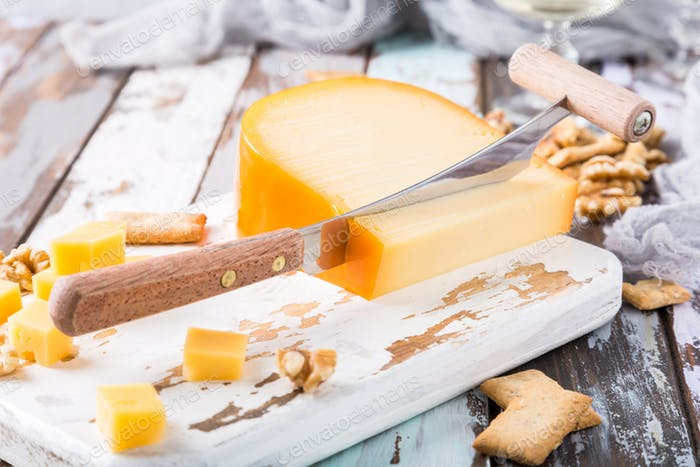 Delicious Gouda cheese