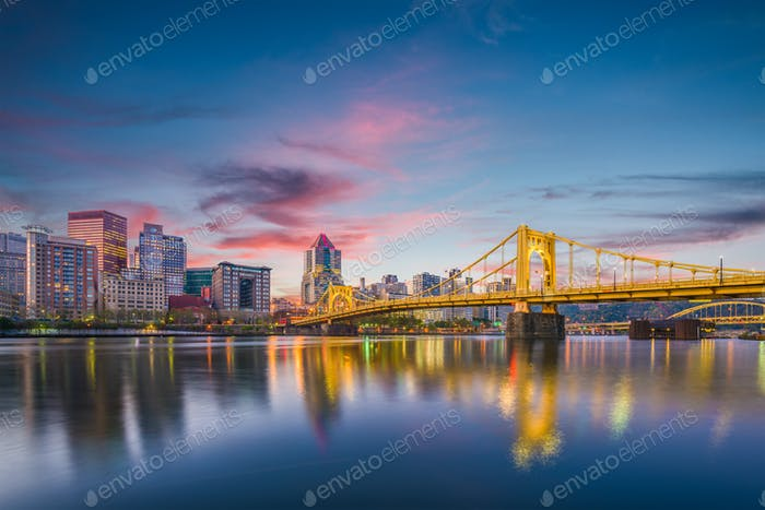 Pittsburgh, Pennsylvania, USA Skyline