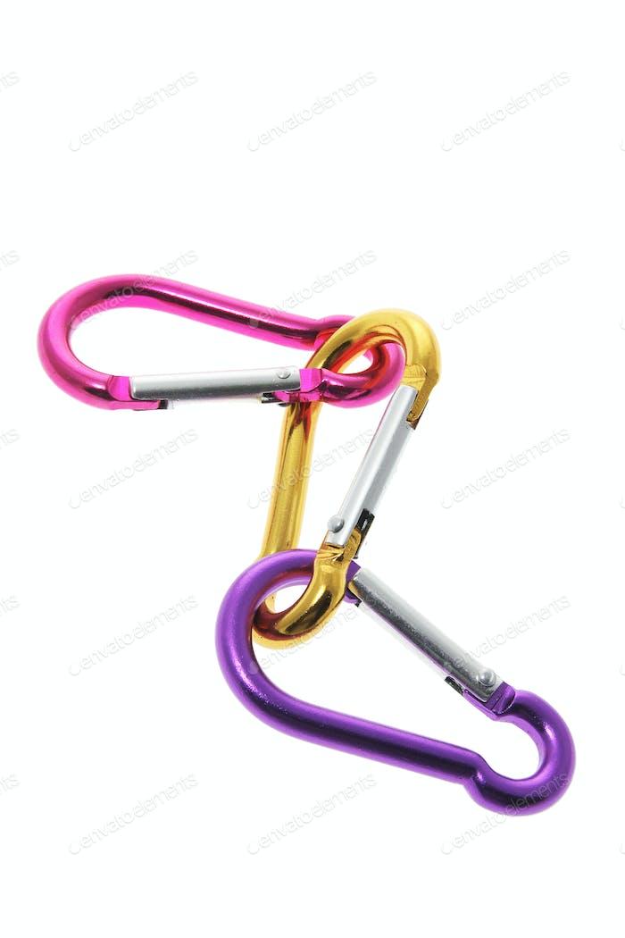 Interlocking Carabiner Hooks