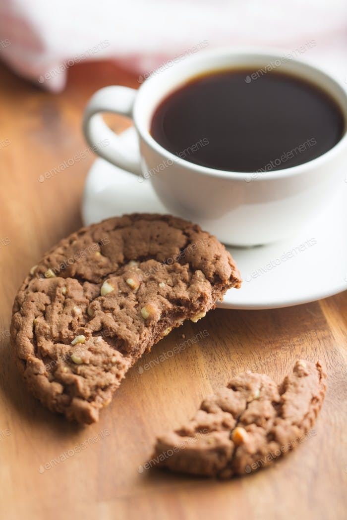 Sweet chocolate cookies.