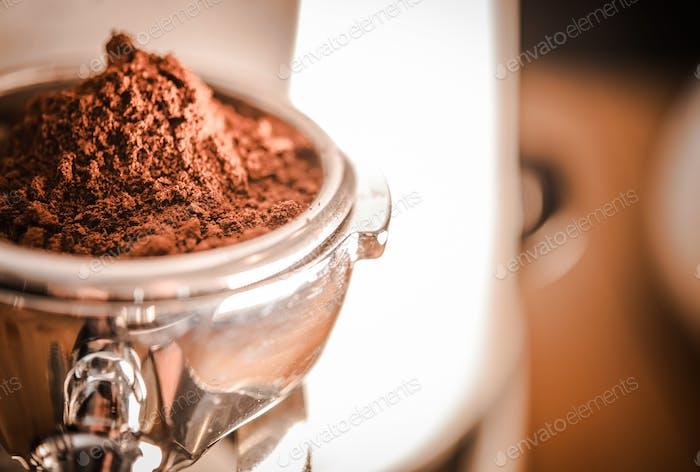 Espresso Coffee Preparation