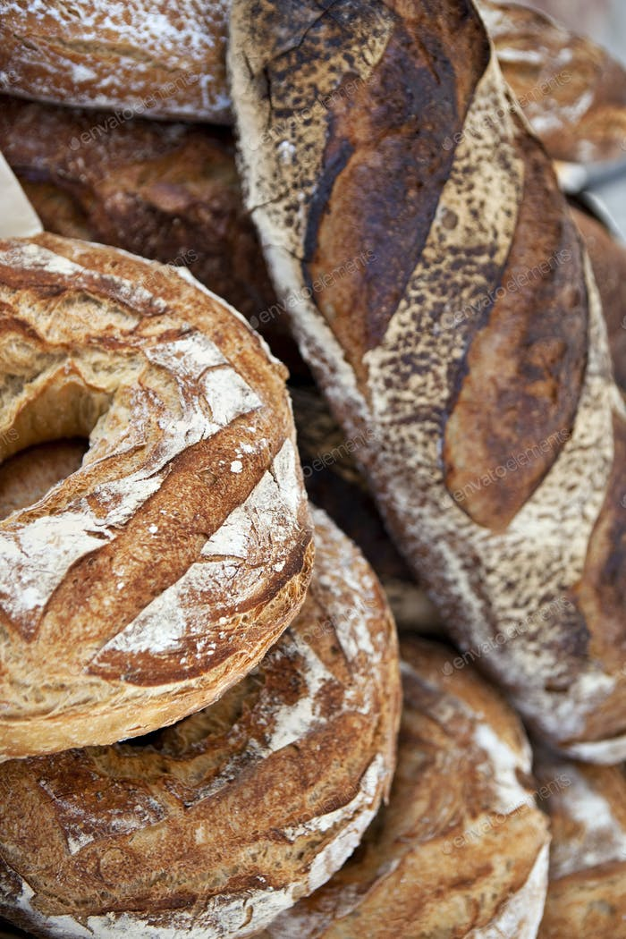 French rustic bread