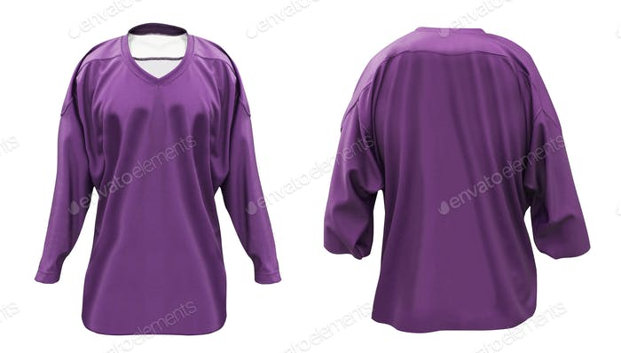 Long-sleeved T-shirts isolated