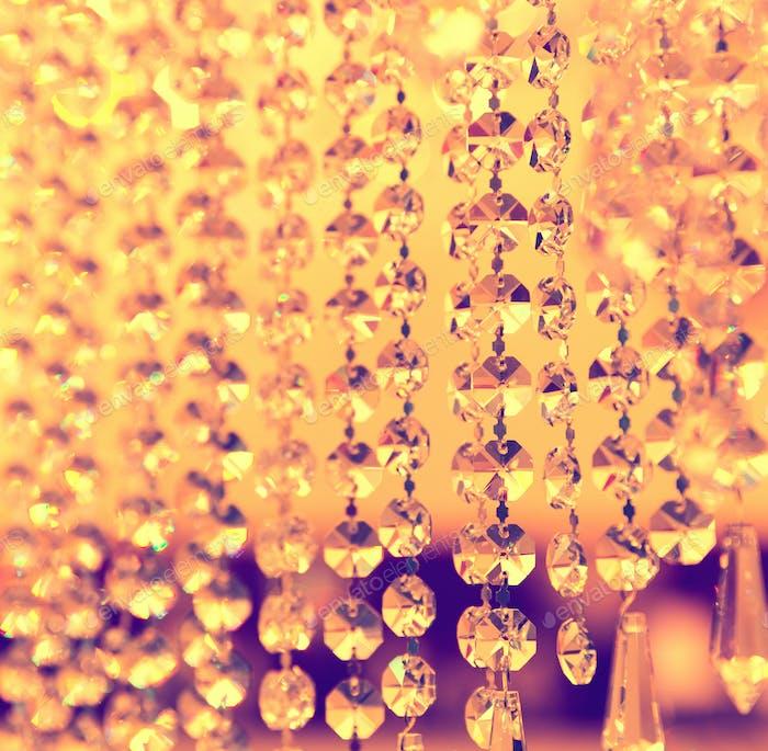 Vintage-Kristall-Lampe Details