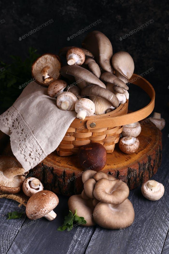 Natural Organic Mushrooms