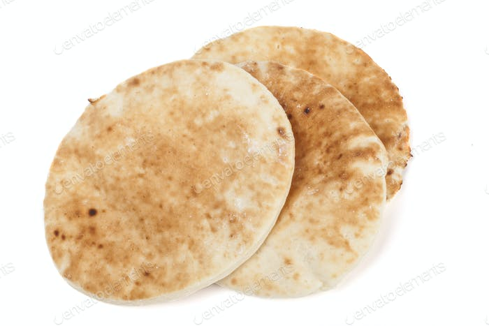 Traditioneller Pita-Stapel